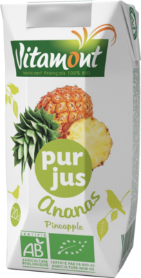 Pur jus d ananas 20 cl