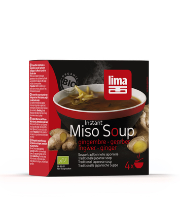 Instant miso soup gingembre 4 x 15g